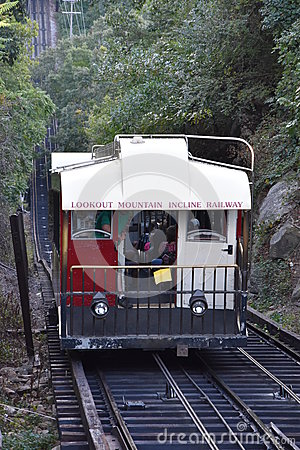 Free The Lookout Mountain Incline Railway In Chattanooga, Tennessee Stock Photos - 82257963