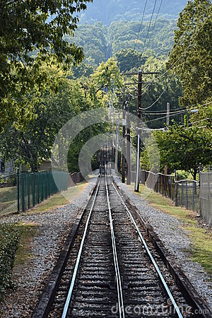 Free The Lookout Mountain Incline Railway In Chattanooga, Tennessee Royalty Free Stock Photography - 82258147
