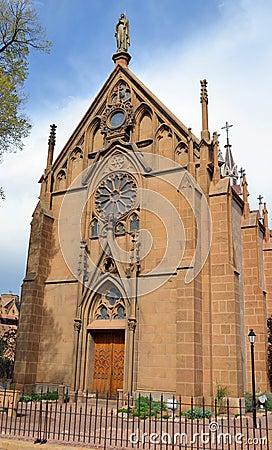 Free The Loretto Chapel Stock Image - 61867091