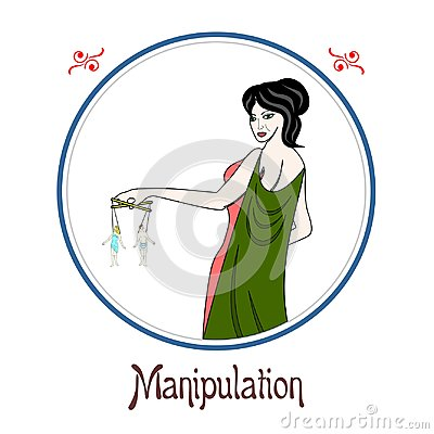 Free The Manipulation Sin Stock Image - 97526521