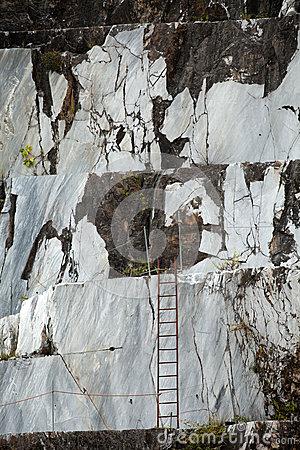 Free The Marble Quarries - Apuan Alps , Carrara, Stock Photo - 28370020