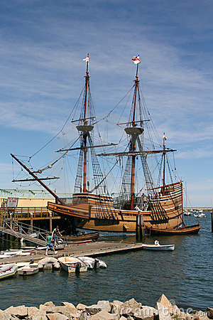 Free The Mayflower Royalty Free Stock Image - 3070916