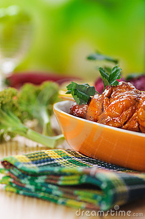 Free The Meat Kebab Skewer Stock Photography - 24100422