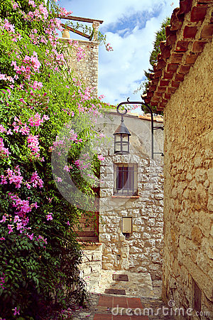 Free The Medieval Village Of Eze Stock Images - 34549974