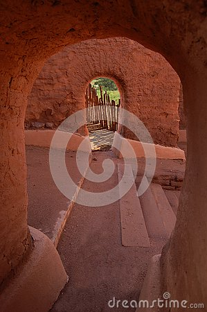 Free The Mission At Pecos National Monument Royalty Free Stock Photos - 158526358