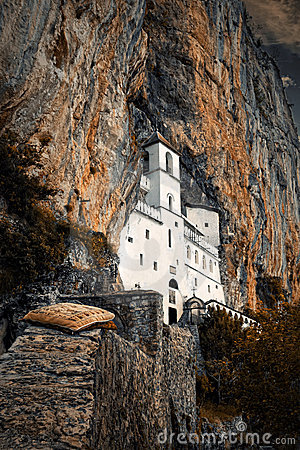 Free The Monastery Of Ostrog Royalty Free Stock Photo - 15737125