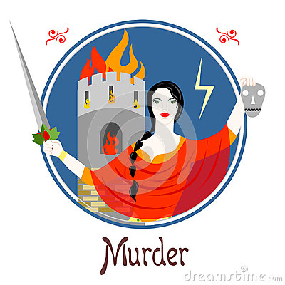 Free The Murder Sin Royalty Free Stock Image - 97172576