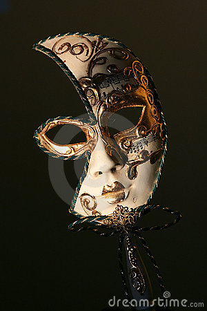 Free THE MYSTERY OF THE CLASSIC VENETIAN MASK Royalty Free Stock Photo - 11869525