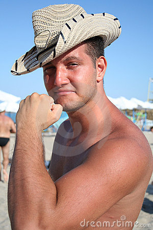Free THE NAKED COWBOY Stock Photography - 3643572