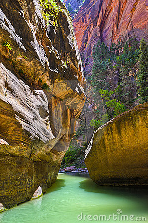 Free The Narrows Royalty Free Stock Images - 20705539