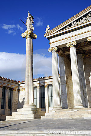Free The National Academy Of Athens (Athens, Greece) Stock Photography - 17096492