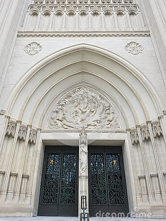 Free The National Cathedral Portal Royalty Free Stock Images - 78743549