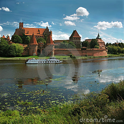 Free The Old Castle In Malbork - Poland. Stock Image - 16444871