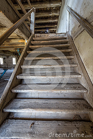 Free The Old Stairs Stock Photos - 45176203