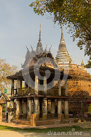 Free The Old Temple, Phitsanulok, Thailand. Royalty Free Stock Image - 90167916