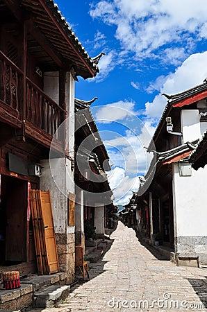 Free The Old Town Of Lijiang,Yunnan Province,China Royalty Free Stock Image - 19683136