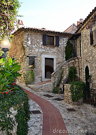 Free The Old Village Of Eze Royalty Free Stock Image - 21506186