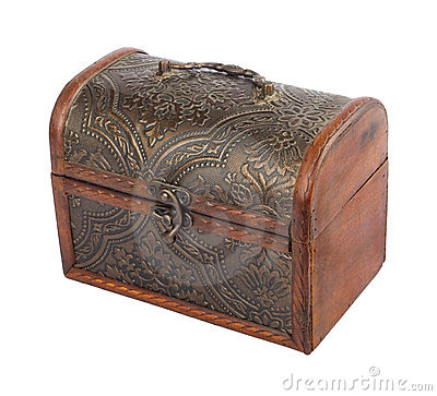 Free The Old Wooden Chest Stock Photo - 19355110