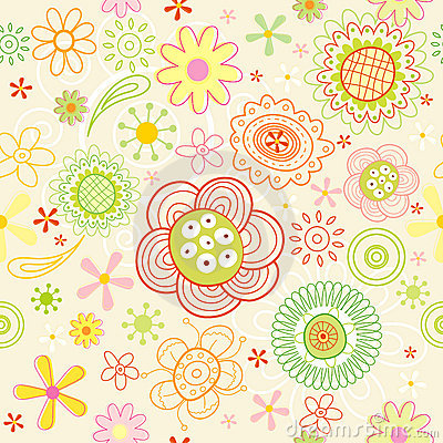 Free The Pattern Of The Flowers Royalty Free Stock Photography - 13220297