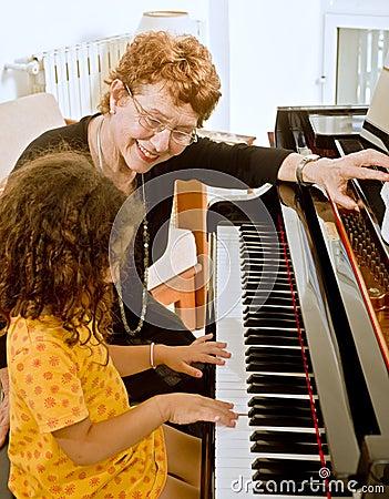 Free The Piano Teacher Stock Photos - 6582613