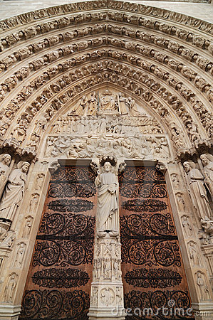 Free The Portal Of The Last Judgement Royalty Free Stock Photo - 15078365