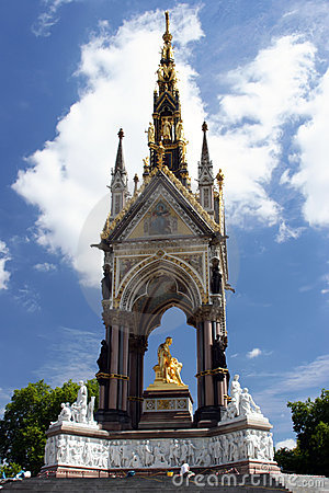 Free The Prince Albert Memorial In Hyde Park, London. Stock Photos - 1198993