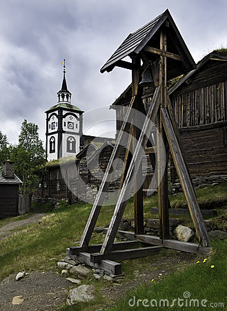 Free The Røros Church, Norway Stock Images - 33773854
