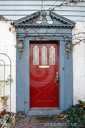 Free The Red Door Stock Images - 1780234