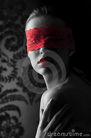 Free The Red Mask Stock Photography - 12805182