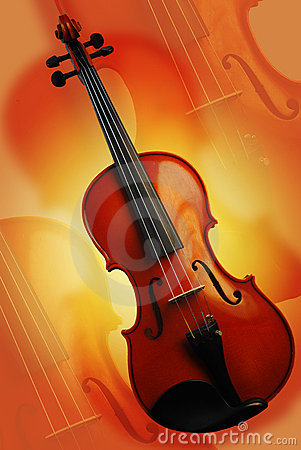 Free The Red Violin Royalty Free Stock Photography - 1920917