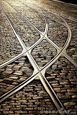 Free The Right Tracks Stock Photo - 5562100