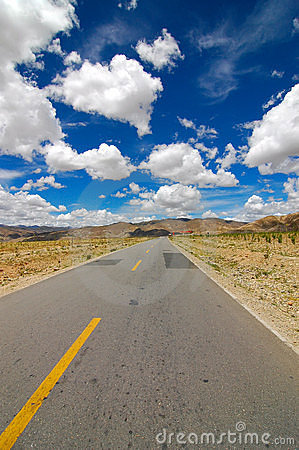 Free The Road Ahead Stock Image - 1095071