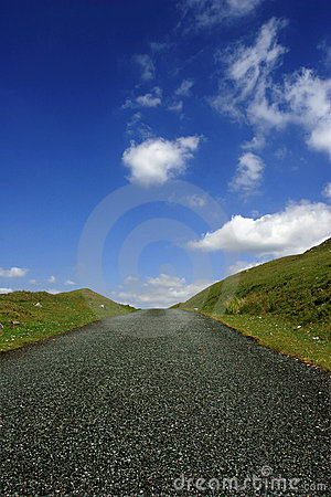Free The Road Up The Hill Stock Photo - 147430