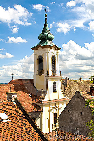 Free The Roofs Of Szentendre Royalty Free Stock Photo - 17238955