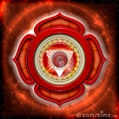 Free The Root Chakra Royalty Free Stock Photography - 30901027
