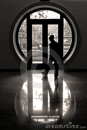 Free The Round Window Royalty Free Stock Photography - 2382657