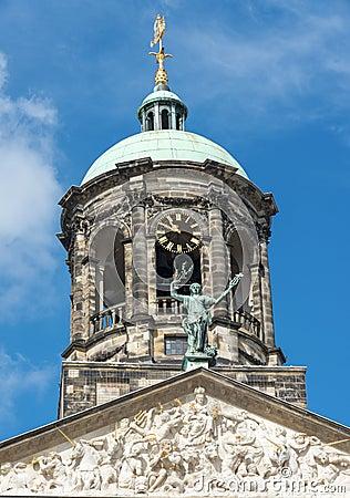 Free The Royal Palace - Amsterdam Royalty Free Stock Photo - 46971125