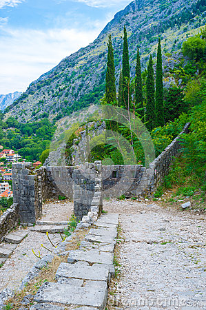Free The Ruined Entrance Stock Photography - 44148242