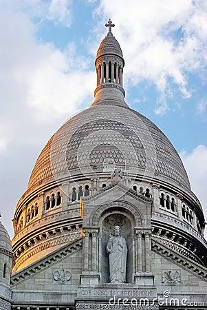 Free The Sacre Coeur Basilica Royalty Free Stock Photo - 12246335