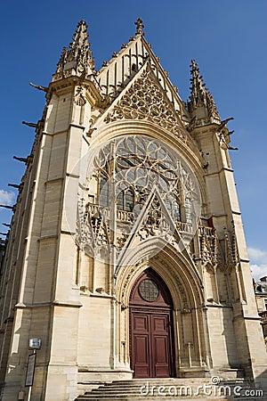 Free The Sainte-Chapelle (Holy Chapel) Stock Photography - 1262612