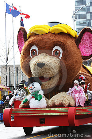 Free The Santa Claus Parade 2008 Royalty Free Stock Images - 7188919