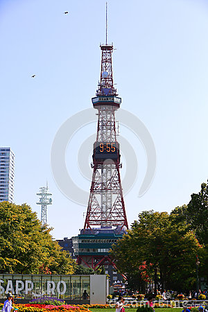 Free The Sapporo TV Tower Stock Photography - 65351902