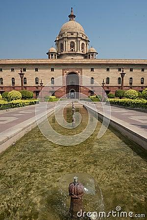 Free The Secretariat In New Delhi Stock Photography - 35279392