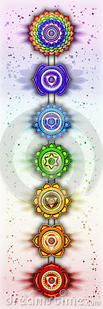 Free The Seven Chakras Stock Photos - 47605743