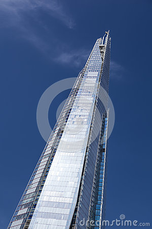 Free The Shard In London With Blue Sky, Editorial Royalty Free Stock Photos - 39277318