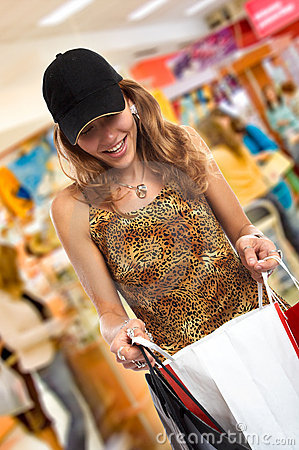Free The Shopping Spree Stock Photo - 1846930
