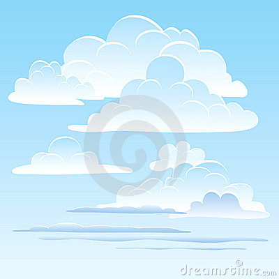 Free The Sky With Clouds Royalty Free Stock Image - 14785566