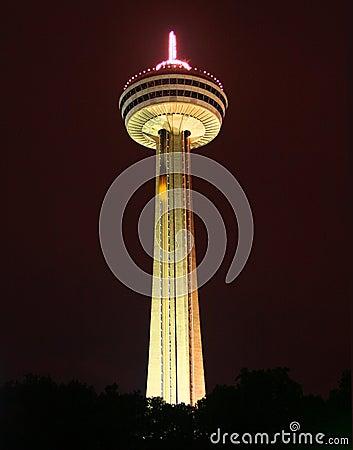 Free The Skylon Tower Of Niagara Falls Royalty Free Stock Images - 1405839