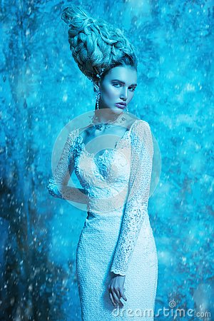 Free The Snow Queen Royalty Free Stock Photo - 131960115