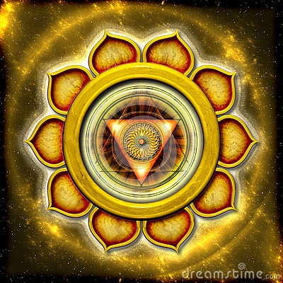 Free The Solar Plexus Chakra Stock Photography - 31655952